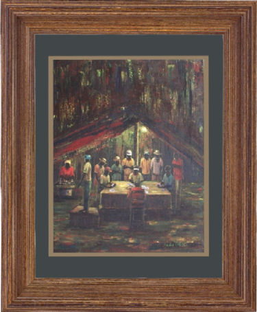 Haiti Framed Art